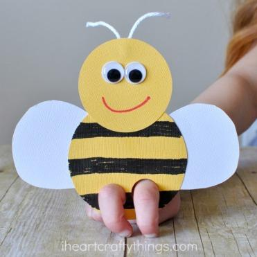 bee-finger-puppet-craft-3